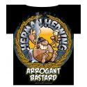 "Herman Hedning T-shirt ""Arrogant Bastard"""