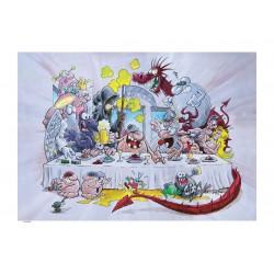 Den sista grisfesten (konsttryck)