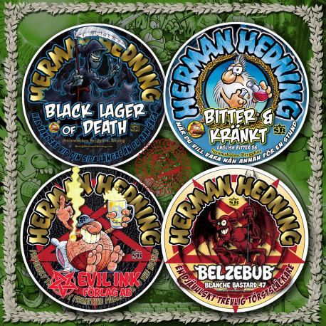 Coasters (Pack of four)