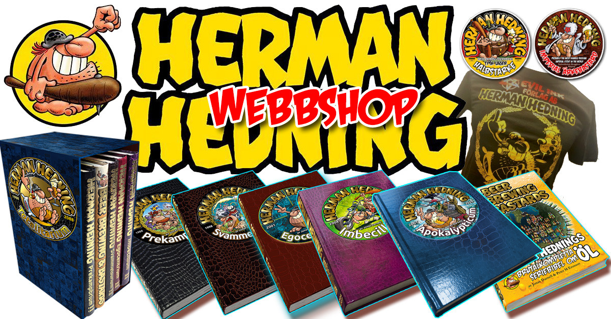 Herman Hedning officiella